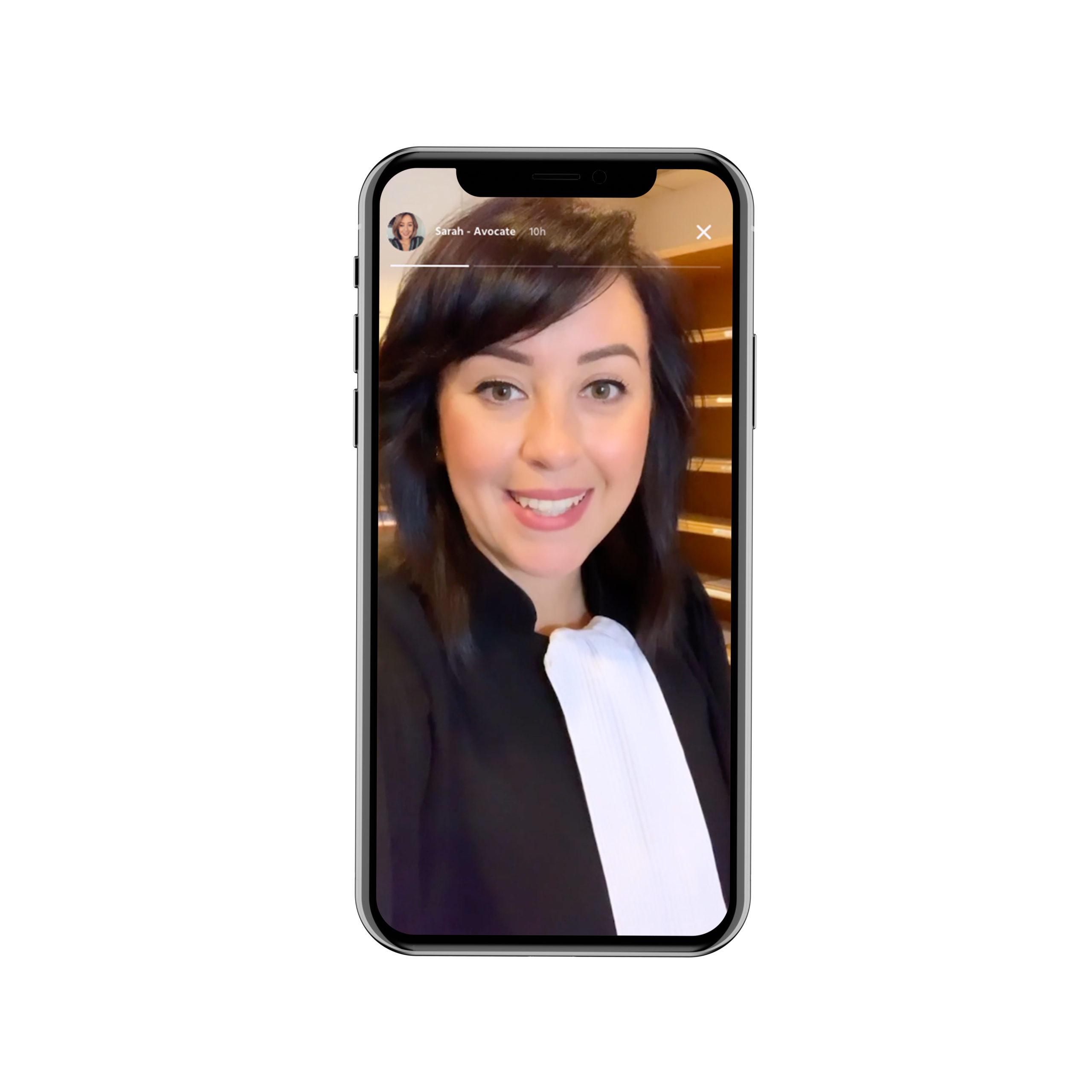 Presse Wilbi -Story avocate application orientation professionnelle